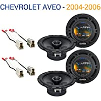 Chevy Aveo 2004-2006 Factory Speaker Replacement Harmony (2) R65 Package New