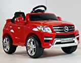Original Battery Operated Ride on Mercedes Benz Ml350 Remote Control Ride on Toy Licensed Car for Kids with Key and Lights