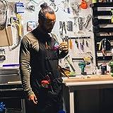 Rugged Tools - Delantal de lona resistente con bolsillos para herramientas para hombres, mujeres, carpintero, mecánico o maquinista