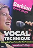 Berklee Workshop: Vocal Technique - Developing Your Voice for Performance [Import]