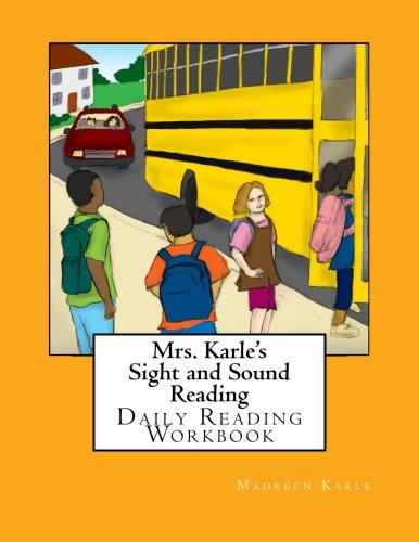 Sight and Sound Reading: Daily Reading Workbook - black and white copy