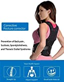 Back Support Brace for Women&Kids Lower Back Pain Relief,The Best Medical Adjustable Posture Corrector,Lumbar Back Belt for Sciatica Pain,Improve Thoracic Kyphosis (L(33''-40''))
