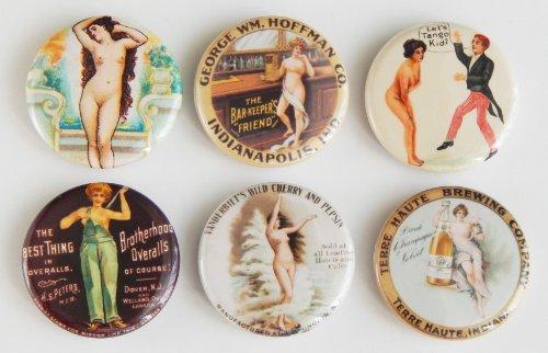 (Nude Woman Fridge Magnet Set)