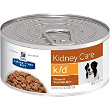 Hill's Prescription Diet k/d Kidney Care Chicken & Vegetable Stew Canned Dog Food 5.5 oz