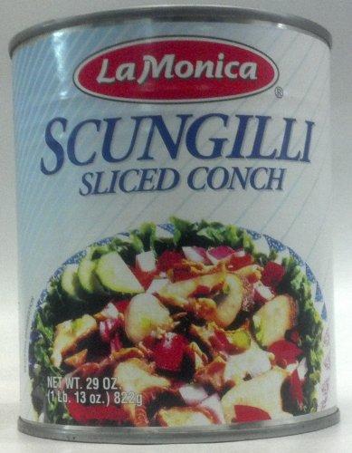 Lamonica Fine Foods Scungilli, Sliced Conch, 29-Ounce ()