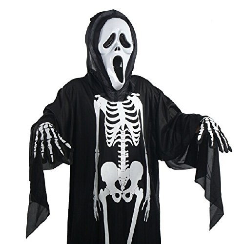 Pixnor Skeleton Scary Adult Costume