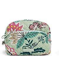 Women's Signature Cotton Medium Cosmetic Makeup Organizer Bag