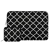 Mosiso Quatrefoil Style Canvas Fabric Laptop Sleeve Bag - Best Reviews Guide