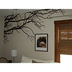 Innovative Stencils 1130 100-Inch X 44-Inch Tree Top Branches Wall Decal Vinyl Sticker