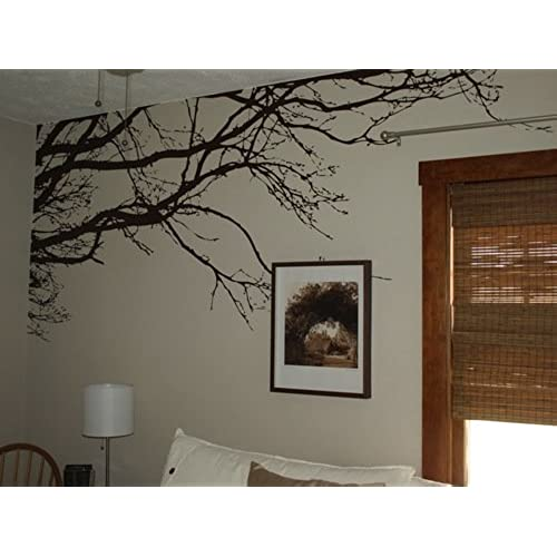 Innovative Stencils 1130 100 Inch X 44 Tree Top Branches Wall Decal Vinyl Sticker