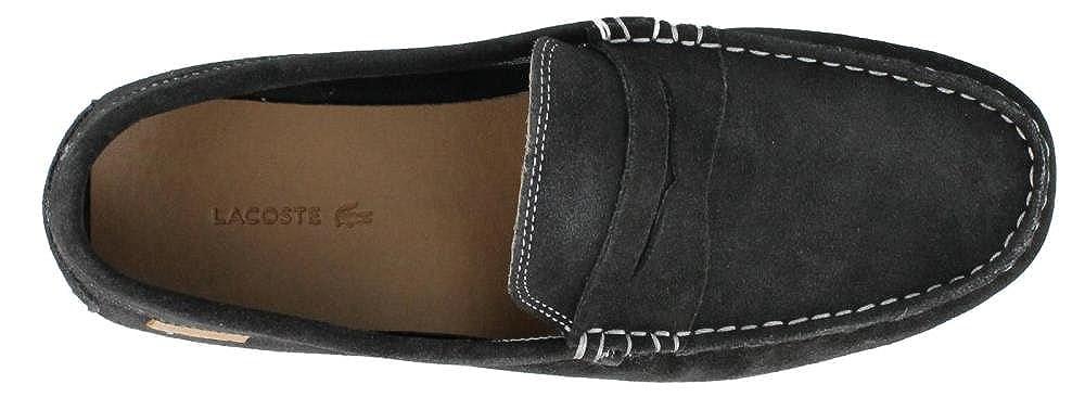 63f14e76be6806 Lacoste Chanler 2 Suede Men Shoes Dark Blue 7-27SRM1211-120  Amazon.ca  Shoes    Handbags