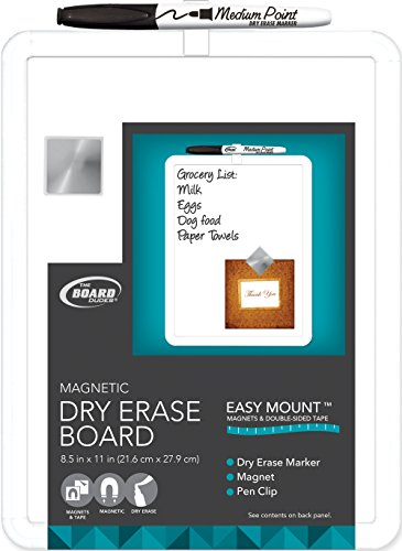 board-dudes-85-x-11-plastic-frame-magnetic-dry-erase-board-with-marker-and-magnet-cxt43