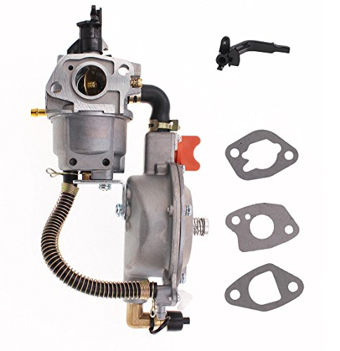 New manual choke Dual fuel carburetor LPG NG conversion kit 2KW GX160 168F