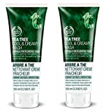 The Body Shop Tea Tree Cool & Creamy Face Wash 2 Pack