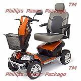 Golden Technologies - Patriot - Heavy Duty Scooter - 4-Wheel - Orange - PHILLIPS POWER PACKAGE TM - TO $500 VALUE