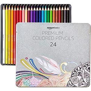 Colored pencils Amazon Basics