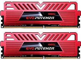 GeIL EVO POTENZA 8GB (2 x 4GB) 288-Pin DDR4 SDRAM DDR4 2133 (PC4 17000) Intel Z170 Desktop Memory Model GPR48GB2133C15DC