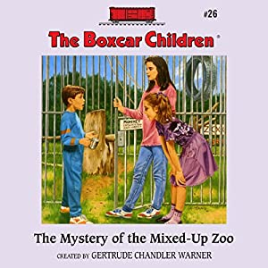 The Mystery of the Mixed-Up Zoo Audiobook
