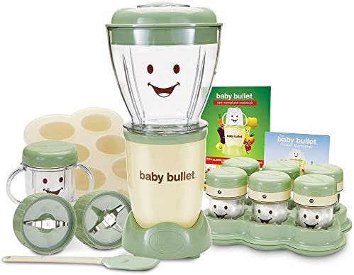 Baby Bullet Food Making System (20-Piece Blender and Storage Set)
