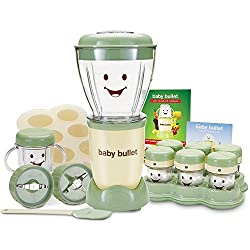 The Baby Bullet has all the power and convenience of the Original Magic Bullet, but now you don't have to make baby's food where you make your margaritas and salsa. With the all NEW baby blend blade you can make and store fresh, healthy, delicious fo...