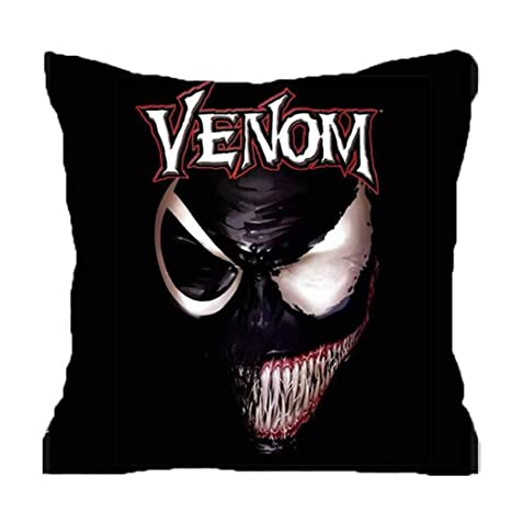MIAOLIDP Cojín Almohada Cojín Negro Spiderman Venom Pillow ...