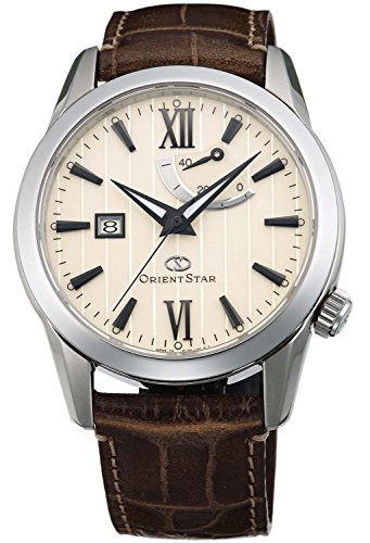 ORIENT watch ORIENTSTAR Orient Star Standard power reserve mechanical self-winding Ivory WZ0361EL Men