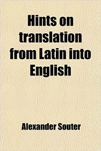 Translate From Latin Into English