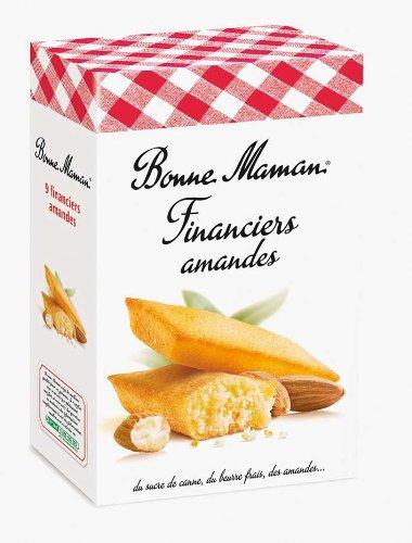 French Financial Almonds Bonne Maman-Financiers Aux Amandes Bonne Maman - 4,76 Oz by Bonne Maman