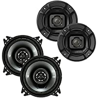 Polk 4-Inch 135W Speakers with Kicker CS Series 4-Inch Coaxial Speakers
