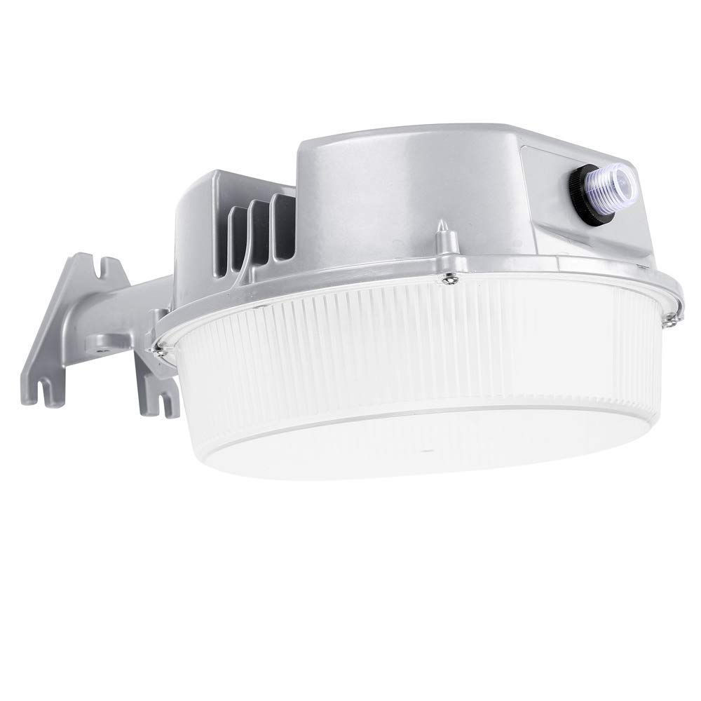 GKOLED 40W LED Barn Area & Wall Light, 5600lm, 5000K Daylight, 175W Equiv, Photocell Dusk to Dawn, DLC and ETL Listed, Ultra-Bright Outdoor Security Floodlight for Yard, Wet Location, 5 Years Warranty