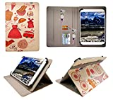 Sweet Tech Insignia Flex 10.1 inch Tablet Paris Universal Wallet Case Cover Folio (10-11 inch)
