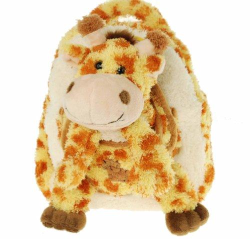 [해외]Plush Animal Backpack - Giraffe / Plush Animal Backpack - Giraffe