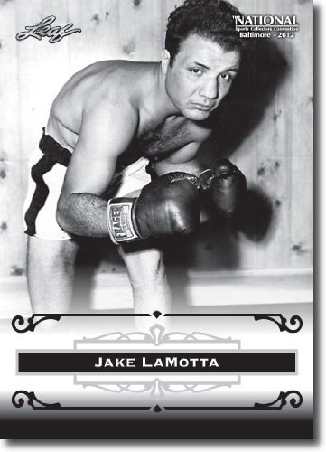 2012 Leaf HOF Baltimore National Sports Collector Promo #JLM Jake Lamotta - The Raging Bull (Boxing Legend)(Collectible Trading Card)