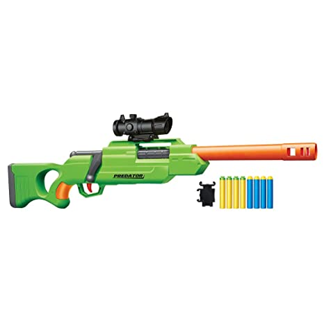 Buzz Bee Toys Air Warriors Gunsmoke Blaster Spielzeug für draußen