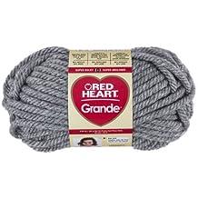 Coats: Yarn RED HEART Grande Yarn, Foggy