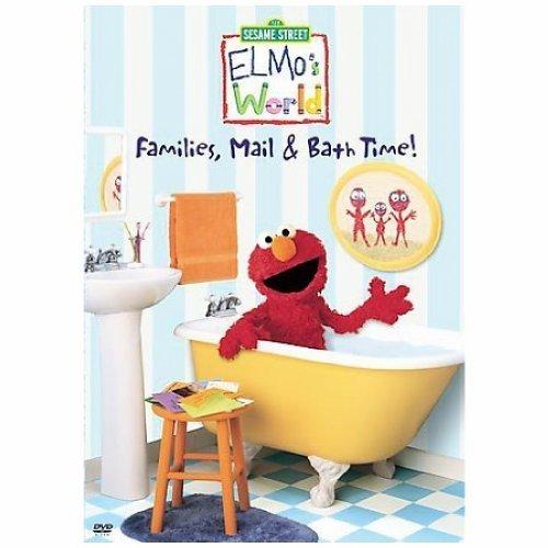 ELMOS WORLD FAMILIES MAIL & BATH TIME (DVD) -  C2G, 50632