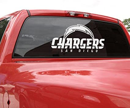 San Diego Chargers Blue Sports Teams Automotive Decal//Bumper Sticker