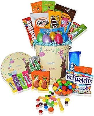 Amazoncom Easter Basket Tin 30ct Premade Kids Boys Girls