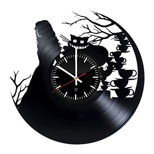 Gift for fans movies Vinyl Record Wall Clock HANDMADE Get unique garage room wall decor - Gift ideas for friends, men and women – Horror Unique Modern Art