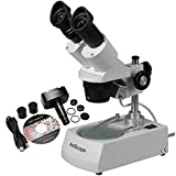 10X-30X Binocular Stereo Coin Microscope + 1.3MP USB Camera