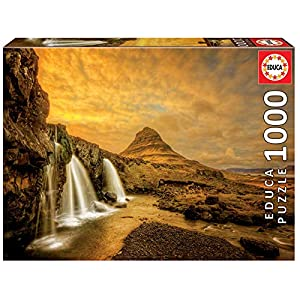 Educa Borras 1000 Cascate Kirkjufellsfoss Islanda Puzzle 17971