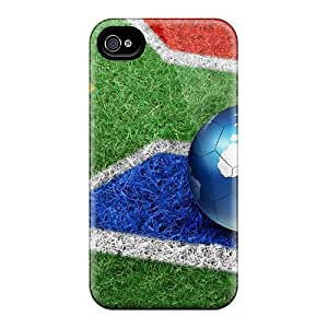 AnnetteL Scratch-free Phone Case For Iphone 5/5s- Retail Packaging - Fifa Soccer 2010