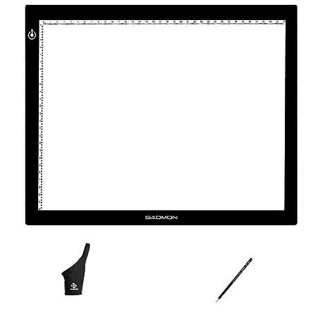 GAOMON GB4 Mesa de Luz Dibujo B4 5MM Ultrafino Tableta de luz para Dibujar y Copiar (GB4 conjunto)
