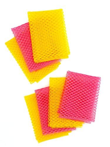 Adios~! Bacteria. Dishwashing Net Cloths (11