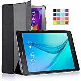 Galaxy Tab A 8.0 Case, IVSO Samsung Galaxy Tab A 8.0 Case - Ultra Lightweight Slim Smart Cover Case-(Lifetime warranty)-Will only fit Samsung Galaxy Tab A 8.0 Tablet (Black)