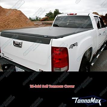 Tonnomax Tc Mtf21 5 5 Soft Tri Fold Tonneau Cover For Ford F 150 Supercrew Cab