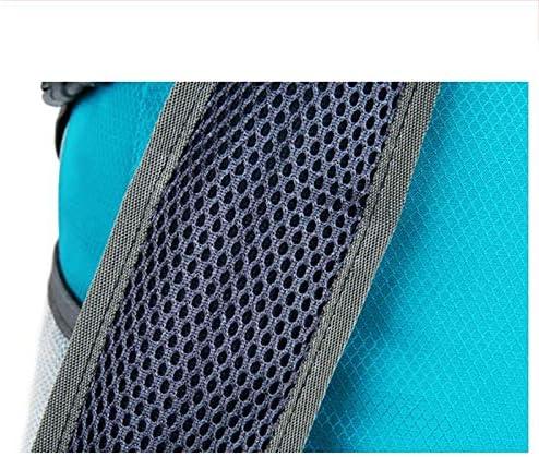 Yuanyuanliu Ultralight Folding Sports Shoulder Bag Outdoor Portable Skin Bag Mountaineering Travel Bag (Color : Black) Black