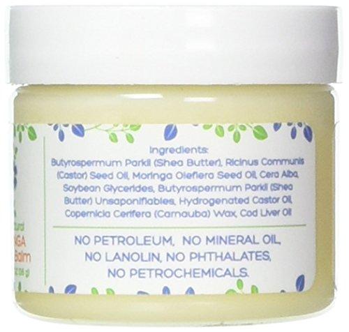 Mummy's Miracle Non GMO Natural Moringa Nipple and Lip Balm Lanolin Free 2 oz...