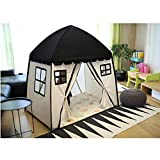 Free Love @black color childre game room kids play house Indian children tents children play tent Kids Teepee