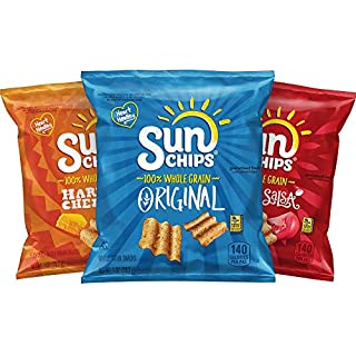 Sunchips Multigrain Chips Variety Pack, 40 Count